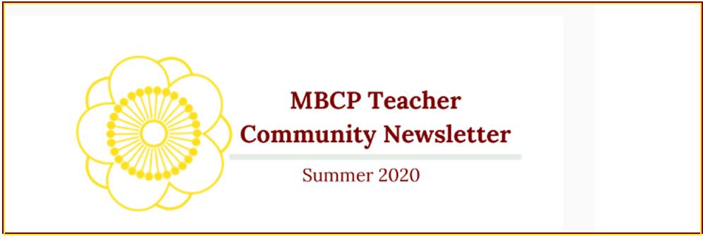 MBCP Teacher Community Newsletter